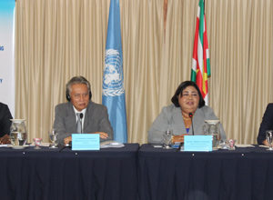 Suriname reinforces its commitment to accede to UNCAT at CTI roundtable