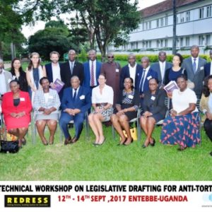CTI workshop on drafting anti-torture laws for common law African States