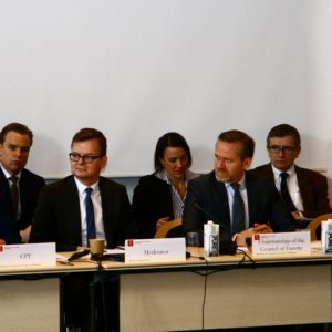 "Council of Europe – CTI – DIGNITY seminar on ""Combating torture during police custody and pre-trial detention"""
