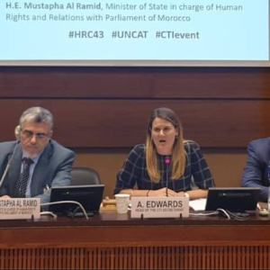 HRC43: States express solidarity against torture at major CTI event