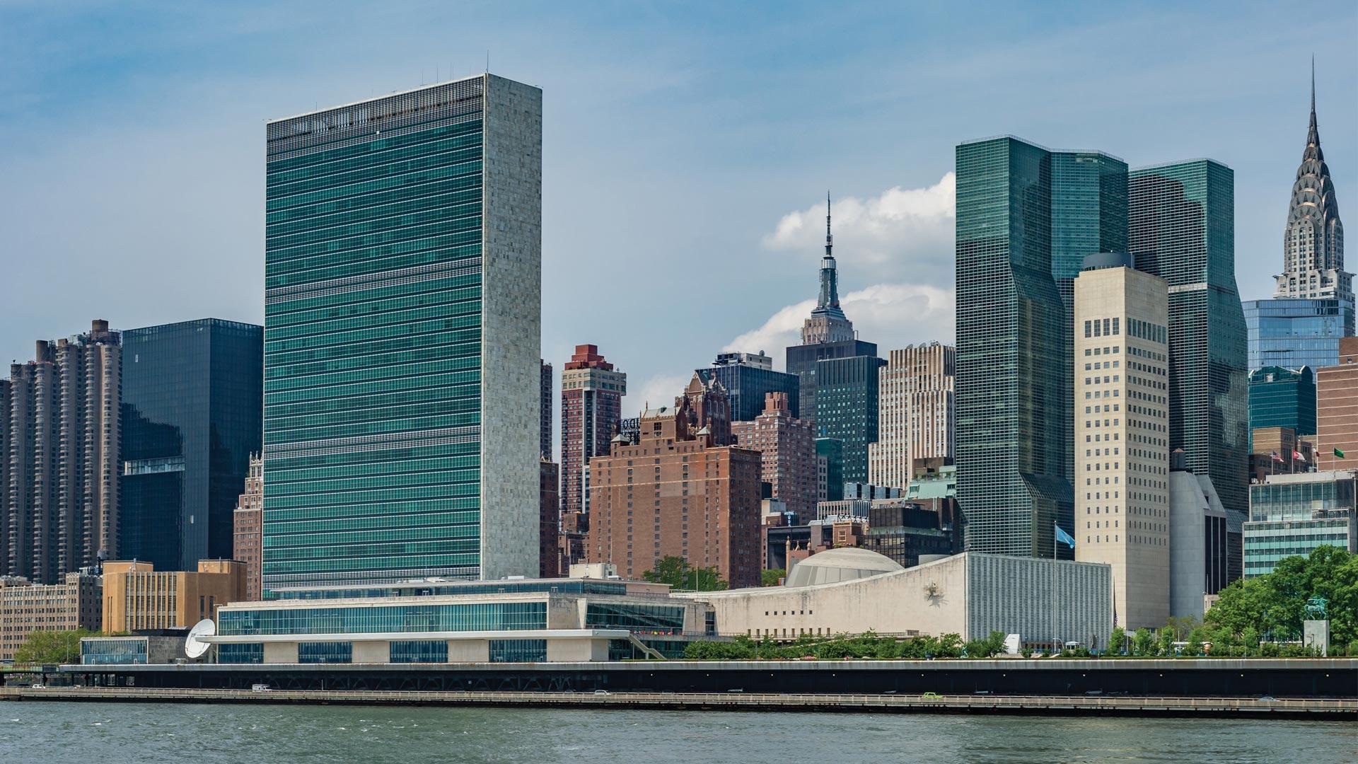 UN Building New York City