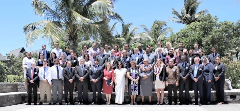 Participants of the CTI regional seminar for Pacific countries