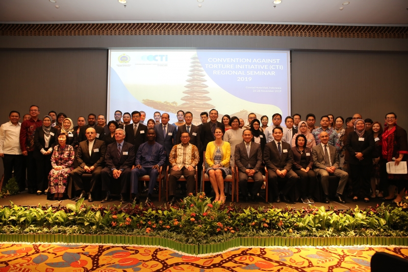 Participants of CTI's Bali regional seminar.