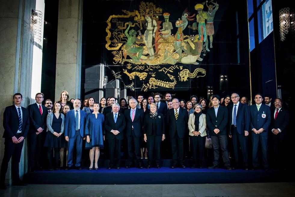 Participants in CTI's regional seminar in Santiago, Chile