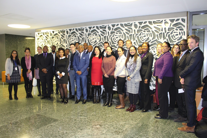 Participants of CTI's closed discussion with Small States on alleviating the Treaty Body reporting
