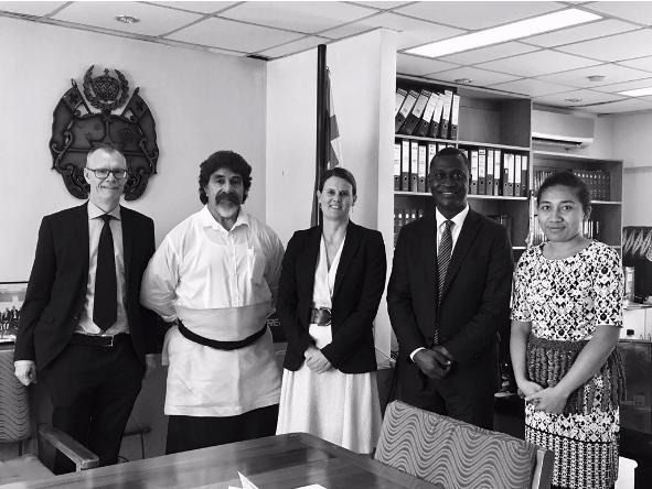 CTI diplomatic visit to the Kingdom of Tonga, 4-5 February 2019