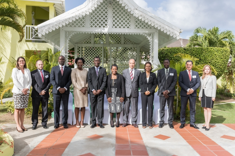 Ministers of Justice and Attorney Generals of Antigua and Barbuda, the Bahamas, Grenada, Jamaica and Saint Vincent and the Grenadines; CTI core States of Chile, Denmark, Ghana and Morocco and Head of the CTI Secretariat.