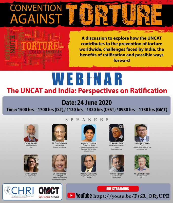 The UNCAT and India: Perspectives on Ratification Banner