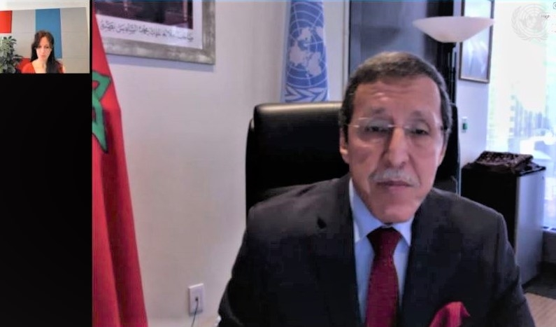 H.E. Omar Hilale, Permanent Representative of Morocco to the United Nations in New York,