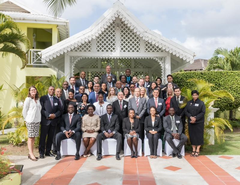 Participants at the CTI Caribbean event held in Gros Islet, Saint Lucia