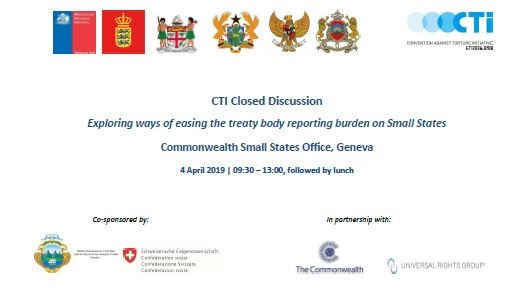 CTI close discussion - the challenges small states face in engaging with the UN treaty body system