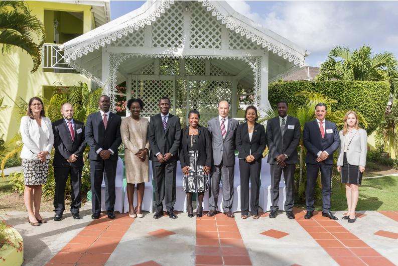 CTI delegation during the CTI regional seminar in Saint Lucia, held in June 2018.