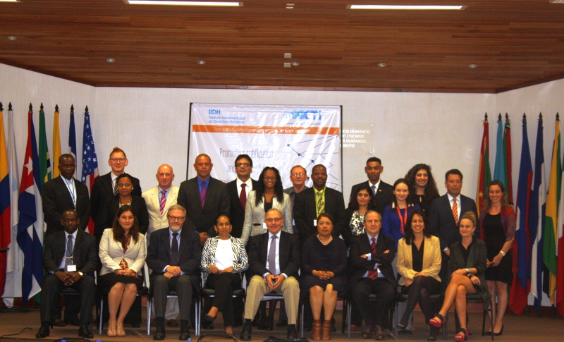 Participants and speakers at the CTI event for Caribbean non-States parties