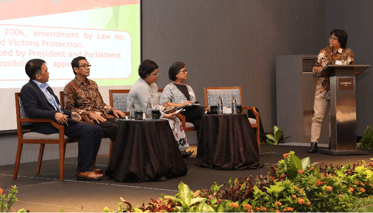 Panelists during the CTI regional seminar held in Bali, Indonesia