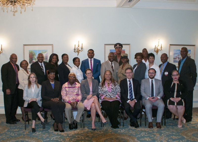 Some of the participants at the CTI roundtable, Nassau, The Bahamas