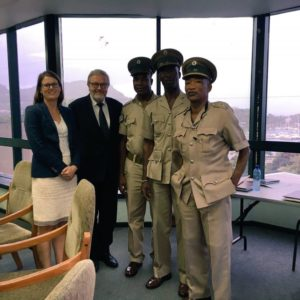CTI delegation visits Grenada and St Lucia to support UNCAT ratification