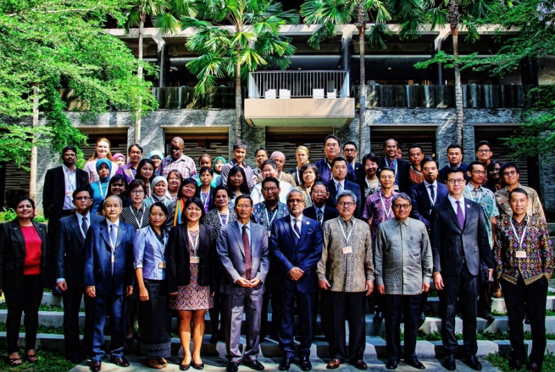 Delegates from the ASEAN region at the CTI event in Bali, Indonesia