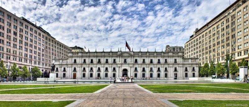 La Moneda Palace, Santiago, Chile.