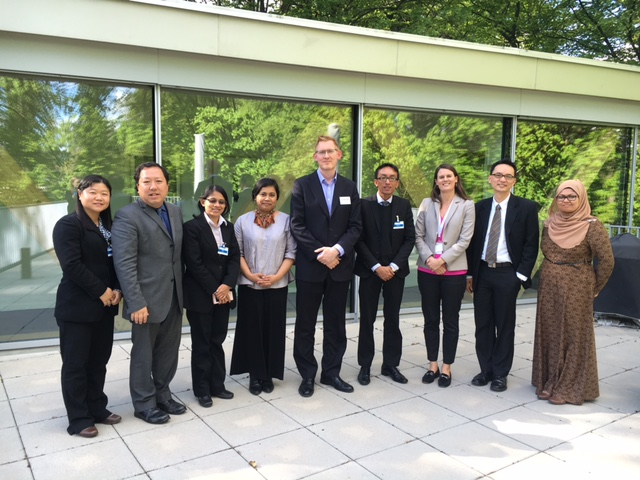 Malaysian delegation together with APT's Asia Pacific Programme Officer, APT's Legal Adviser and CTI Head of Secretariat