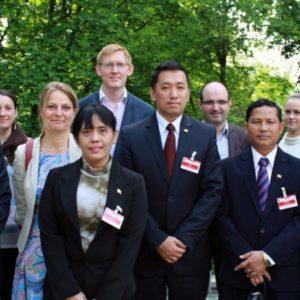 Myanmar  Geneva Study Visit and joins CTI Group of Friends