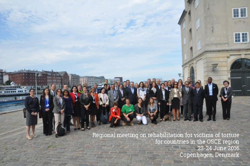 Regional meeting on rehabilitation for victims of torture OSCE countries