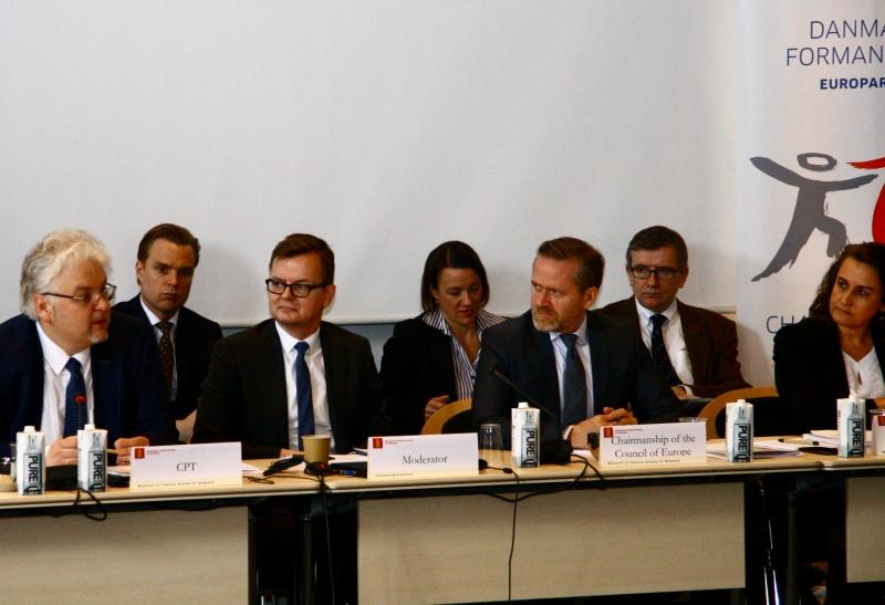 Prof. Gnatovskyy, Mr. Lars Bjorn Holboll, Mr. Samuelson, Ms. Therese Rytter.