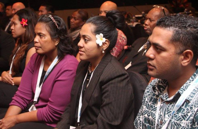 Meeting participants at the CTI seminar in Fiji, October 2016.